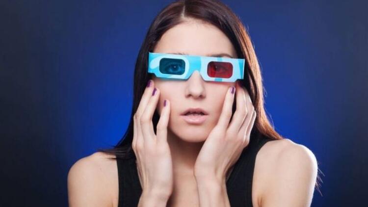 3 boyutlu gözlüklere dikkat!
