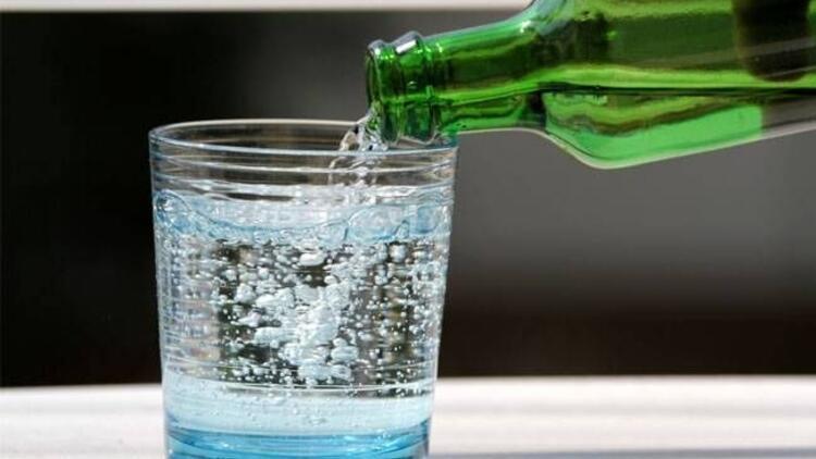 Kalp sağlığınız için günde 1 adet maden suyu!