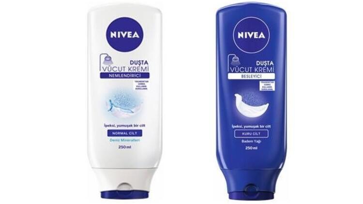 Nivea'dan duşta cilt bakımı