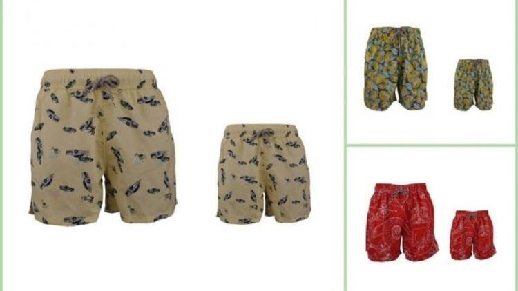 Bu yaz baba ve oğullar bir örnek giyinecek