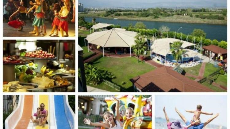 Ailece eşsiz bir tatilin adresi; Otium Eco Club Side