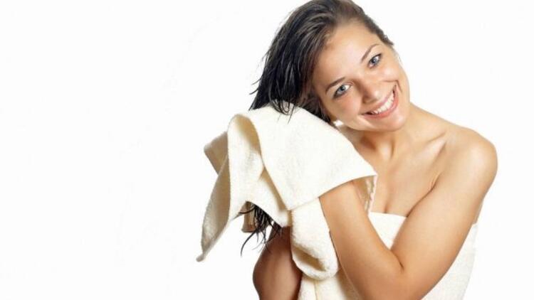 Yazın saçlarınızı doğal yöntemlerle kurutun
