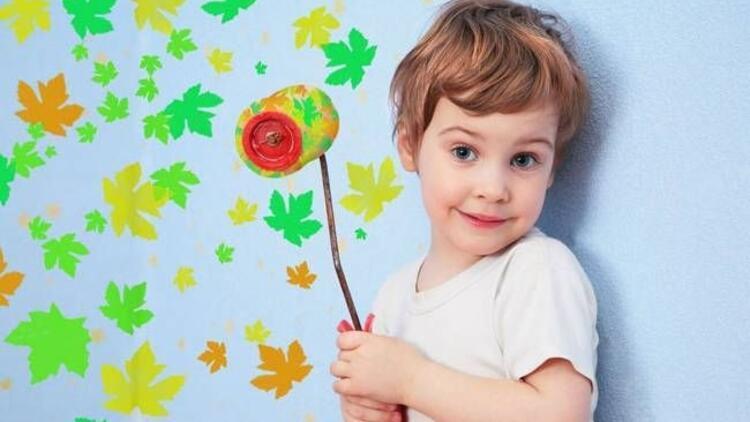 Çocuğunuzun odasını duvar kağıdıyla renklendirin
