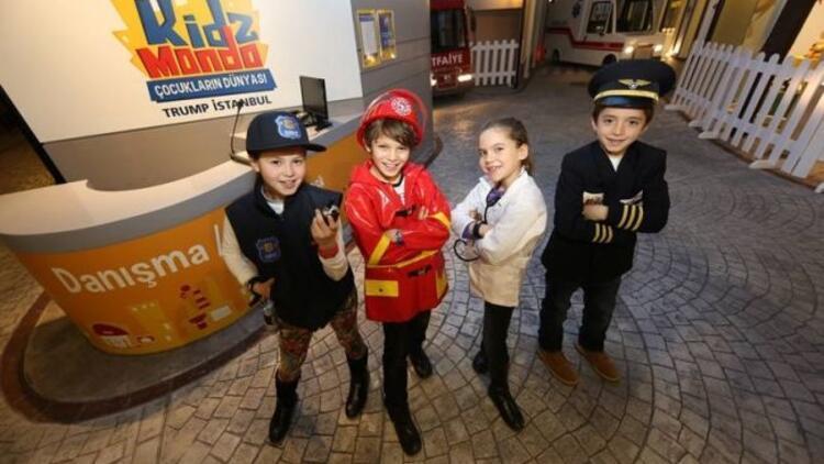 Türkiye'nin ilk çocuk şehri KidzMondo açıldı!