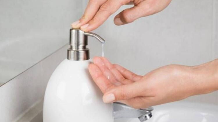 Uzmanlar sıvı sabun tavsiye etmiyor