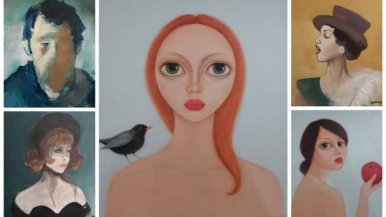 Estetik Açıdan Portre karma sergisi