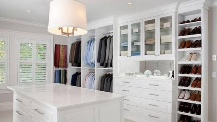 En şık giyinme odaları