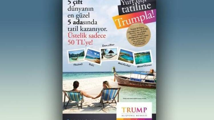 Yaz tatiliniz Trump Towers'tan!