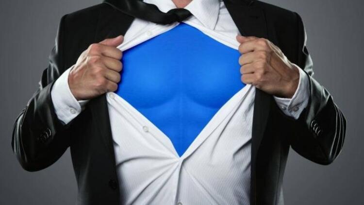 Türkiye'de her 10 erkekten 7'si Süperman