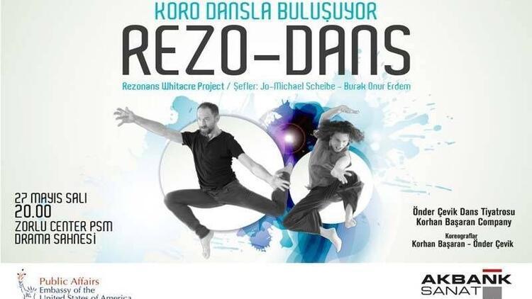 Koro dansla buluşuyor: Rezo-Dans