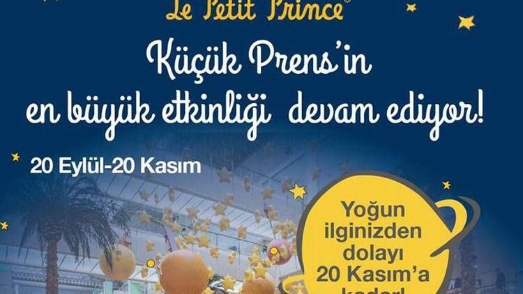 Küçük Prens, 20 Kasım'a kadar Capitol'de!