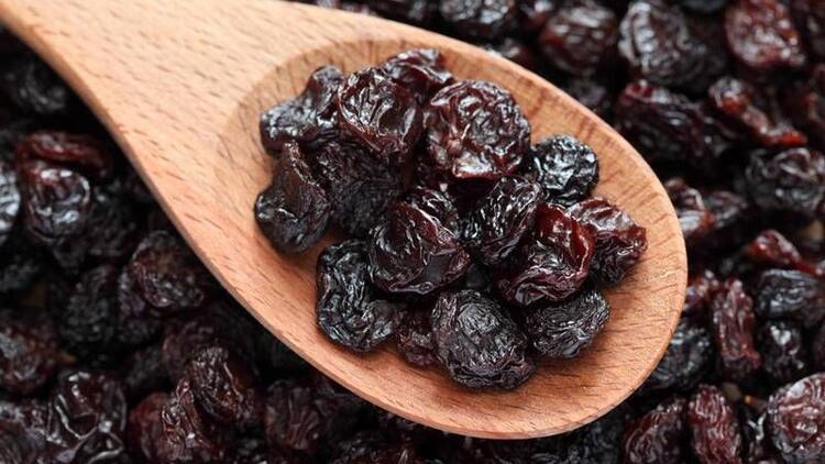 Kuru üzüm; göz, diş ve kemik sağlığı için çok faydalı