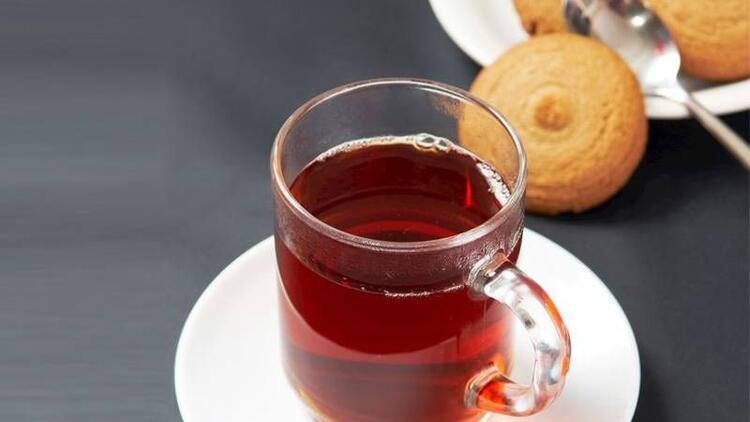 Tatlı yedikten sonra bir bardak çay için!