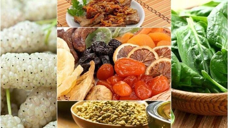 Kansızlığı bu besinleri tüketerek yenebilirsiniz!