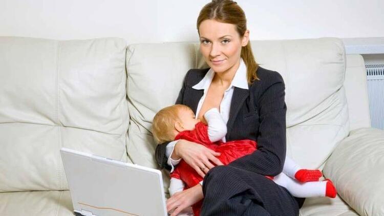 Çalışan kadınların doğum ve süt izni