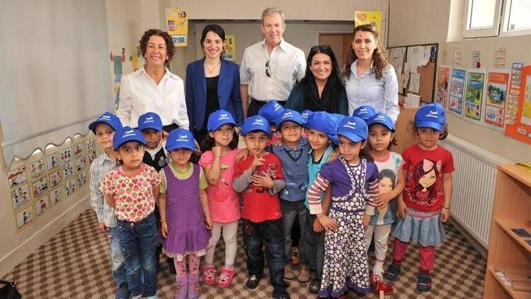 Çocukların gelişimi destekleyerek okula hazırlıyorlar