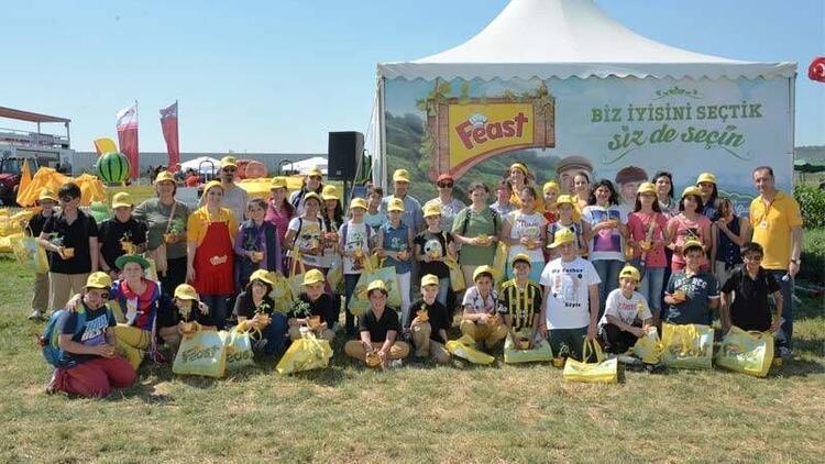 Feast Çocuk Çiftliği, minik ziyaretçilerini ağırladı