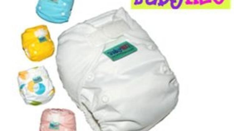 Türkiye'nin ilk yıkanabilir bebek bezi!