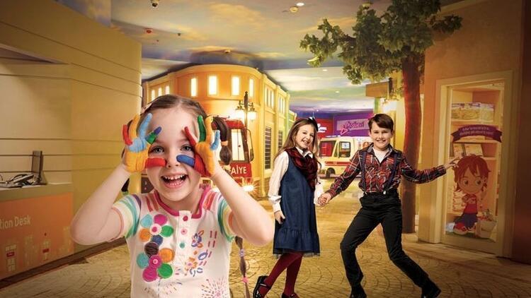 Çocuklar KidzMondo'da dünya kültürleriyle tanışıyor