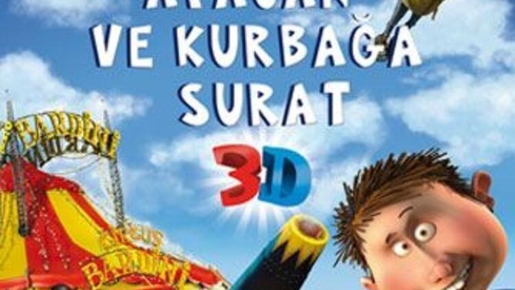 """""""Afacan ve Kurbağa Surat"""" sinemada!"""