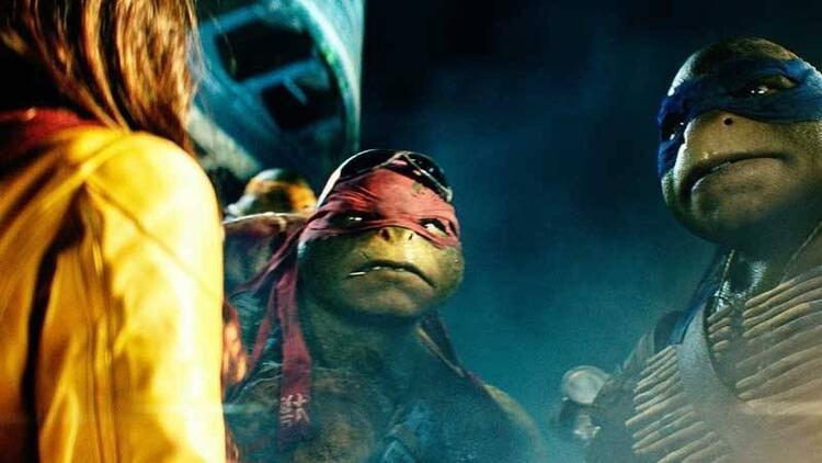 Ninja Kaplumbağalar 3 boyutlu olarak sinemalarda!
