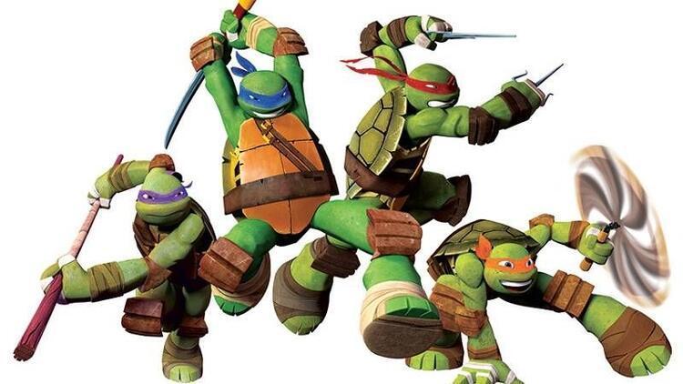 Okula dönüş yolunda Ninja Kaplumbağalar heyecanı
