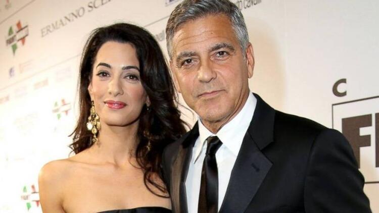 Ünlü aktör George Clooney evlendi!