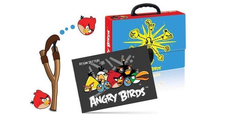 Angry Birds karakterleri şimdi okulda…