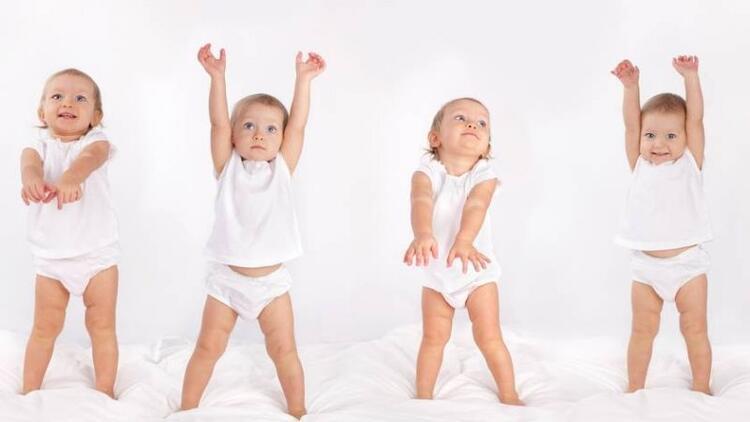Bu bebekler doğuştan danşçı