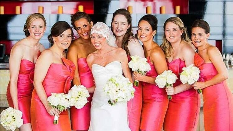 Kanser, düğünü engelleyemedi!