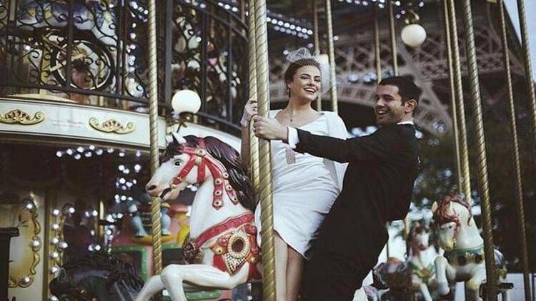 Kerem Cem ve Seda Güven Paris'te evlendi!