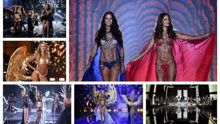 Victoria's Secret Fashion Show yine büyüledi!
