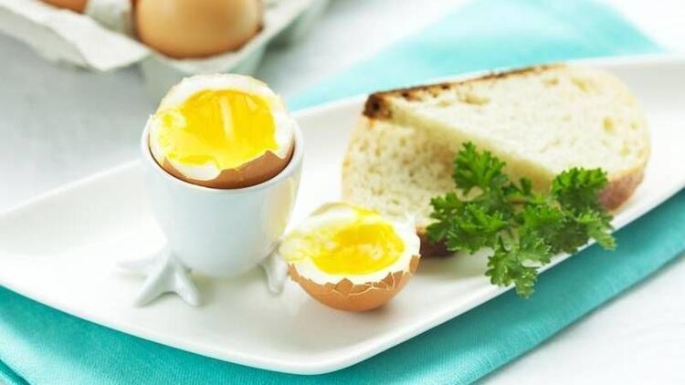 Yumurta uzun süre tokluk sağlıyor!