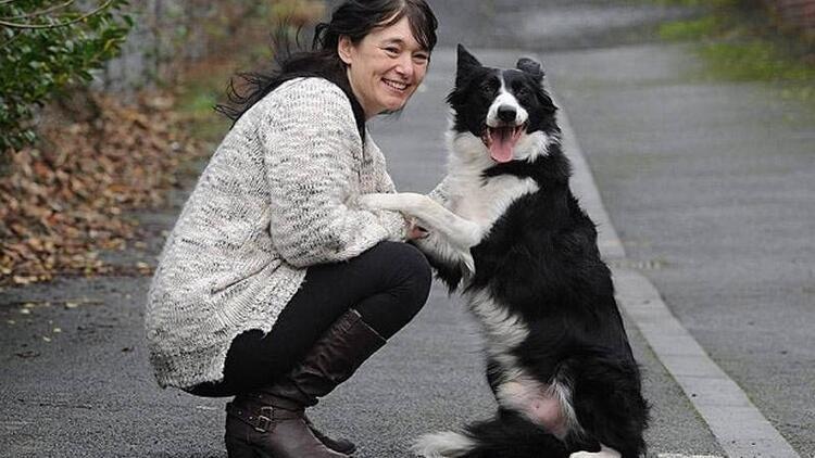 Kanser olduğunu köpeği sayesinde öğrendi