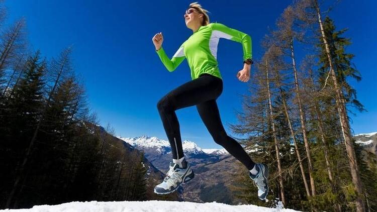 Kış aylarında spor yaparken önleminizi alın