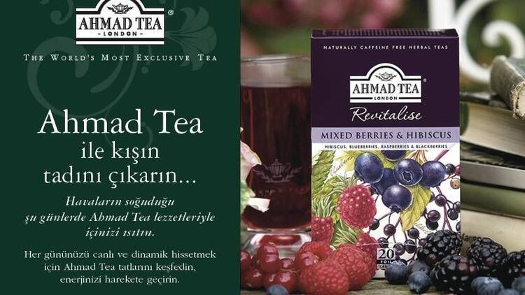 Ahmad Tea ile kışın tadını çıkarın!