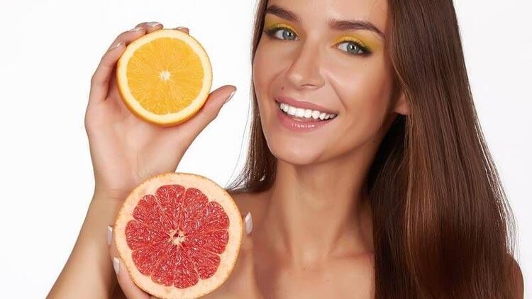 Portakal ve greyfurt cildin en büyük koruyucuları!