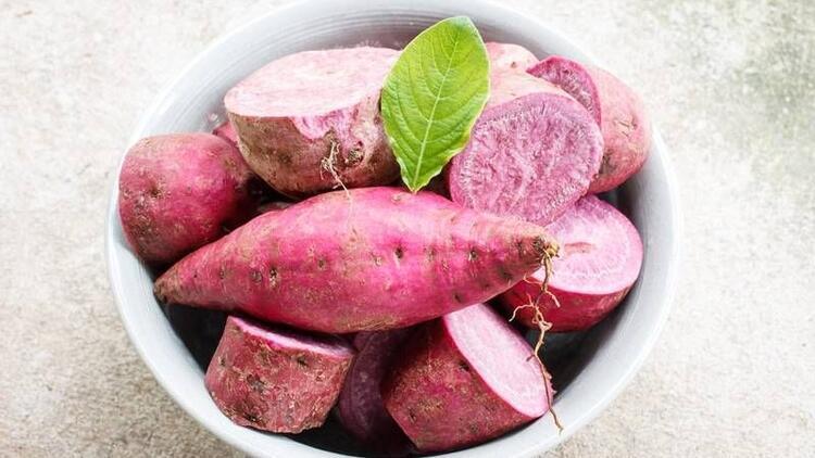 Mor tatlı patates hücre yaşlanmasını önlüyor
