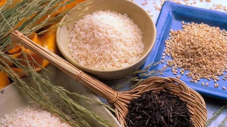 B vitamini açısından zengin olan pirincin faydaları