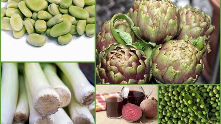 Şifa deposu 5 bahar sebzesi ve faydaları!