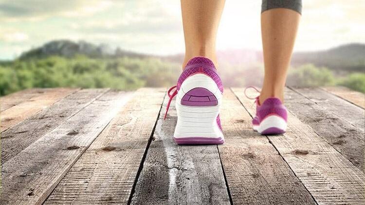 Kalp sağlığınız için günde 30 dakika yürüyün