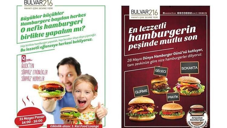 Damak tadınıza uygun hamburgerler bu atölyede!