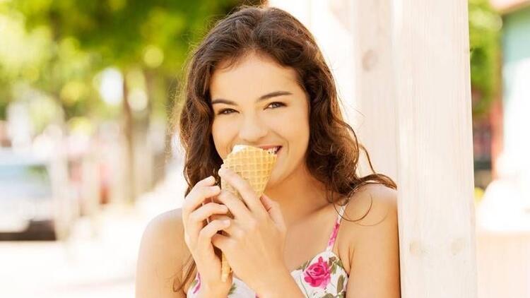 Mutluluk kaynağı dondurma!