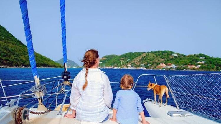 Çocukla mavi yolculuk!