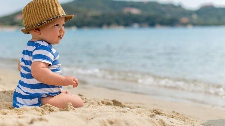 Bebekler yazın denize girmeli mi?