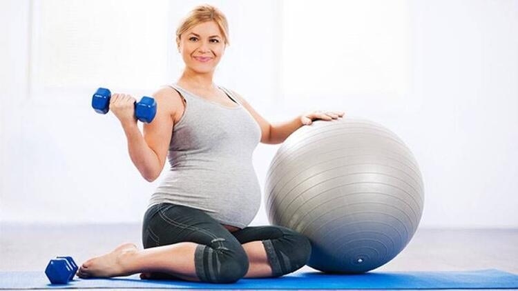 Hamileler de pilates yapar!