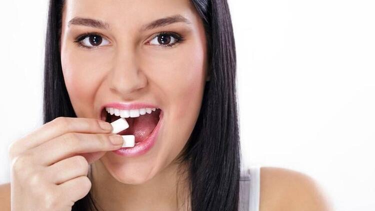 Diş beyazlatan sakız!