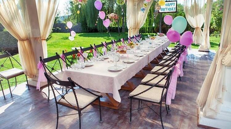 Bahçe partileri nasıl düzenlenir?