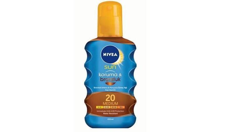 Güvenli bronzlaşmanın formülü: Nivea Sun serisi