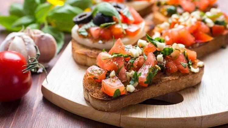 Klasik İtalyan lezzeti Bruschetta tarifi!